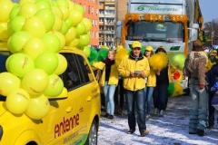Zug der fröhlichen Leute in Cottbus 02.03.2014